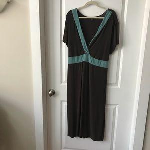 Mossimo/Target Plus Dress Brown w/Seafoam